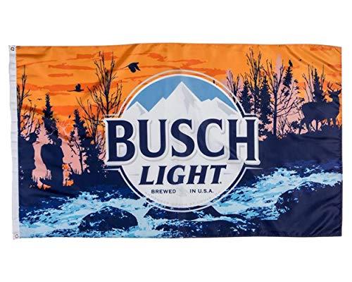 Busch Light Sunset Hikers Flag