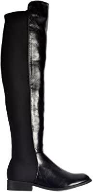 The Knee Thigh High Flat Riding Boot