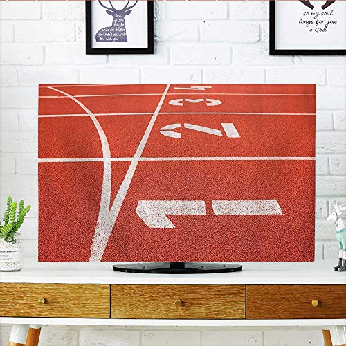 Protect Your TV Close Up of Numrs Racetrack Lines Stadium for sale  Delivered anywhere in USA
