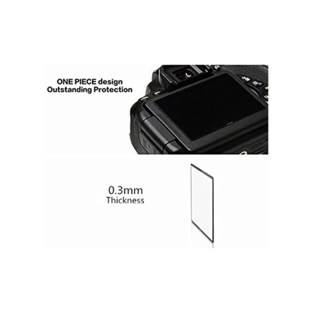 GGS IV Autocollant Film de Protection d/écran LCD en Verre Optique pour Appareil Photo Canon 1DX
