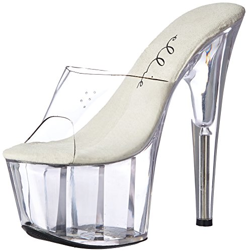 Ellie Shoes Womens 709-ijdelheid 7 Puntige Stiletto Muilezel Vrij