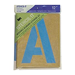 Duro Stencil-It Oil Board Stencil Set 12-Inch