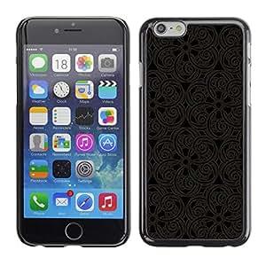 Caucho caso de Shell duro de la cubierta de accesorios de protección BY RAYDREAMMM - Apple iPhone 6 - Pattern Oriental Carving Lace Interior Design Art