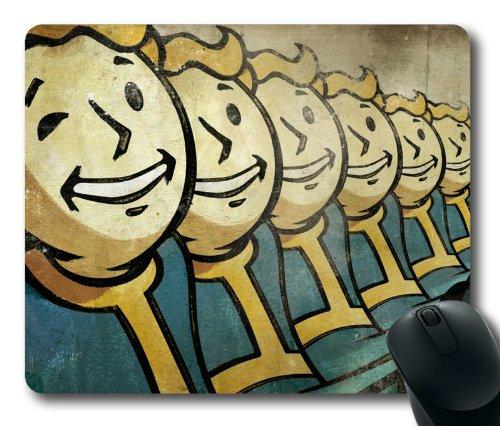 Customizablestyle Vault Boy, Fallout New Vegas Mousepad, Customized Rectangle DIY Mouse (Fallout Diy)