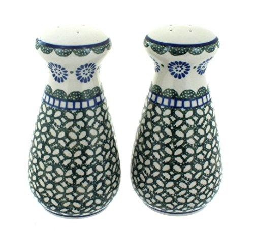 - Blue Rose Polish Pottery Maia Large Salt & Pepper Shakers
