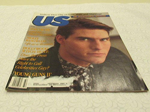 US Magazine (Tom cruise , Molly Ringold , Young Guns 2 , Andrew Dice Clay, August 6 , 1990)