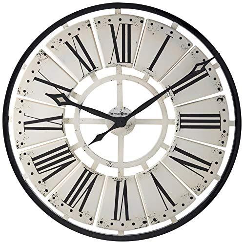 Howard Miller 625546 Pierre Clock - Resin White Clock
