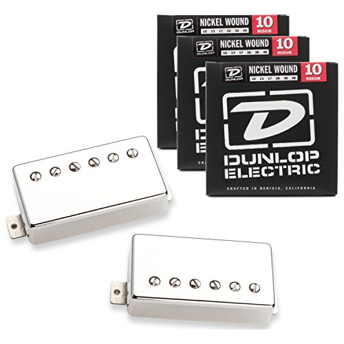Seymour Duncan 11108-49-NC Pearly Gates Nickel Pickup Set w/ 3 Sets of Strings