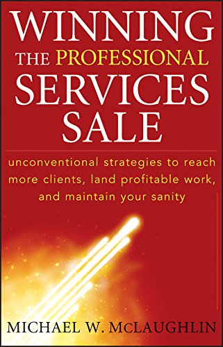 An innovative approach to winning more profitable sales in thegrowing professional services industry In recent years, professional services providers have had torethink their sales methods and adapt to profound changes in theway clients buy services....