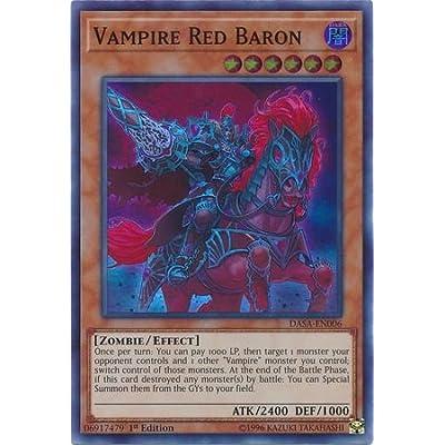 Vampire Red Baron - DASA-EN006 - Super Rare - 1st Edition: Toys & Games