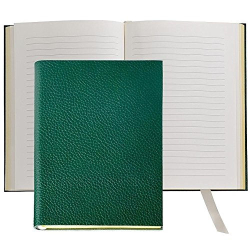 The MILLENNIAL JOURNAL Pebble-Grain Pine-Green Leather by Graphic Image™ - 6x8 by Graphic Image