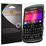 BlackBerry Curve 9360 Screen Protector 5 Pack Flex Shield Clear Screen Protector for BlackBerry Curve 9360 Bubble Free and Scratch Resistant Film