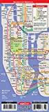 StreetSmart NYC Midtown Manhattan Map by VanDam -- Laminated pocket sized city street Map with all attractions, museums, Broadway theaters, hotels and subway map, 2018 Edition.