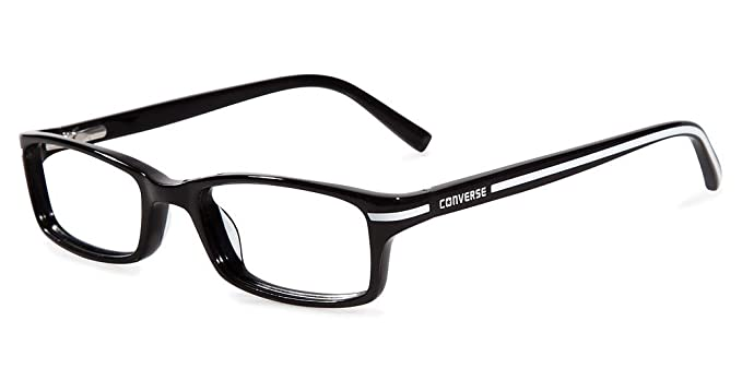 fe08240033c Image Unavailable. Image not available for. Color  CONVERSE Eyeglasses K004  Black 47MM