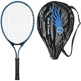 Blue Streak Junior Tennis Racquet - Strung with Cover (Choice of Length)