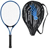 Blue Streak Junior Tennis Racquet – Strung with Cover (Choice of Length)