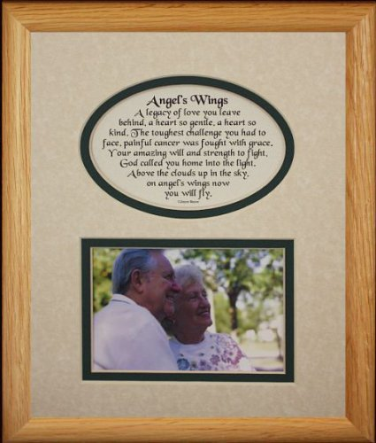 Amazon.com: 8x10 ANGEL\'S WINGS Picture & Poetry Photo Gift Frame ...