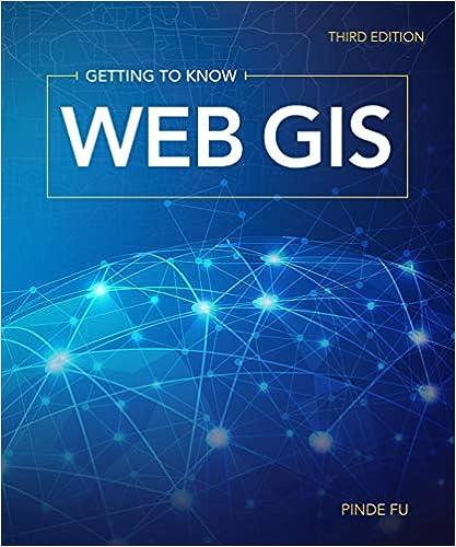Getting To Know Web Gis Pinde Fu 9781589485211 Amazoncom Books