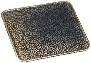 Kamino-Flam 333072 - Bandeja para base de chimenea (latón envejecido, 50 x 80 cm)