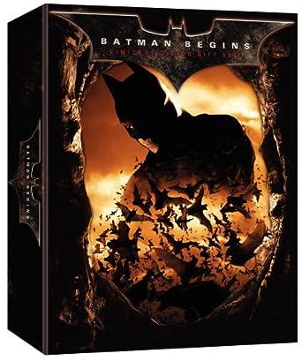 Amazon com: Batman Begins (Limited Edition Gift Set