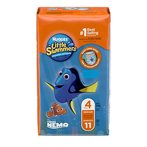 Huggies Little Swimmers Disposable Swimpants, Medium, 11-Count