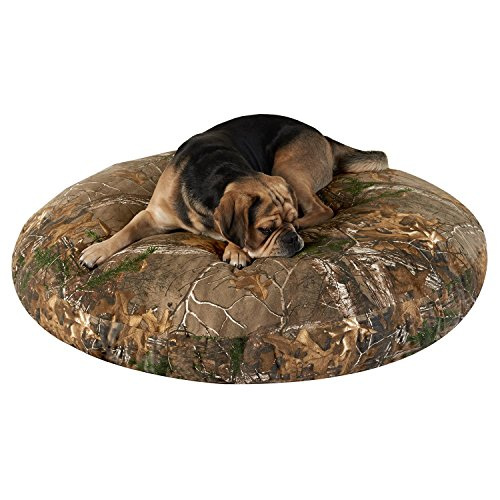 PawTex Realtree Xtra Camo Round Dog Bed, 40