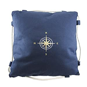 51CRly7C53L._SS300_ 100+ Nautical Pillows & Nautical Pillow Covers