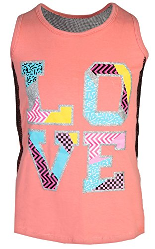 'Girl's 4-Piece Fashion Active Short Sets, Love, Size 10/12' by dELiA*s (Image #1)