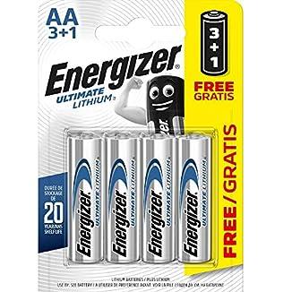 Energizer Pila de litio LR6 AA 1