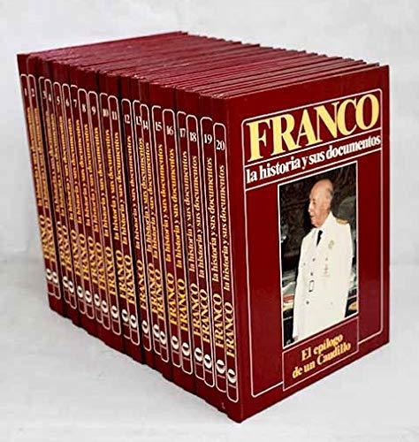 FRANCO, LA HISTORIA Y SUS DOCUMENTOS 20 TOMOS - URBION // 1986 - OBRA COMPLETA -: Amazon.es: LUIS SUAREZ FERNANDEZ, URBION: Libros