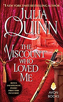 The Viscount Who Loved Me With 2nd Epilogue (Bridgertons) by [Quinn, Julia]