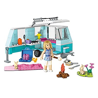 Mega Construx American Girl Lanie's Camping Trip Building Set: Toys & Games