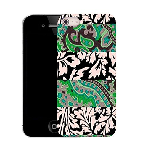 Mobile Case Mate IPhone 5S clip on Silicone Coque couverture case cover Pare-chocs + STYLET - mixed leaf pattern (SILICON)