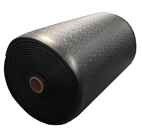 Bertech Anti Fatigue Vinyl Foam Floor Mat, 3' Wide x 20' Long x 3/8'' Thick, Textured Pattern, Black (Made in USA) by Bertech (Image #3)