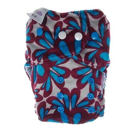 Itti Bitti Bitti Tutto - Pañal lavable (talla única), estampado de flores
