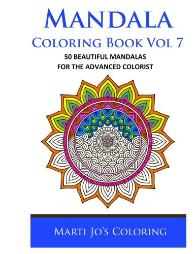 Mandala Coloring Book Vol 7