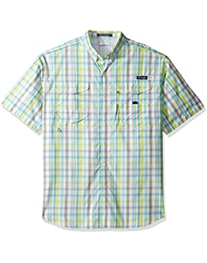 Men's Big Super Bonehead Classic Short Sleeve Shirt, Moxie Multi Gingham, 2X/Tall