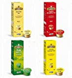 Caffitaly Original System Twinings Tea Pods / Capsules - 10 x 4 boxes = 40 count pods / caps (4 flavours)