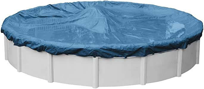 Robelle 3524-4 Winter Round Above-Ground Pool Cover, 24-ft, 01 - Super