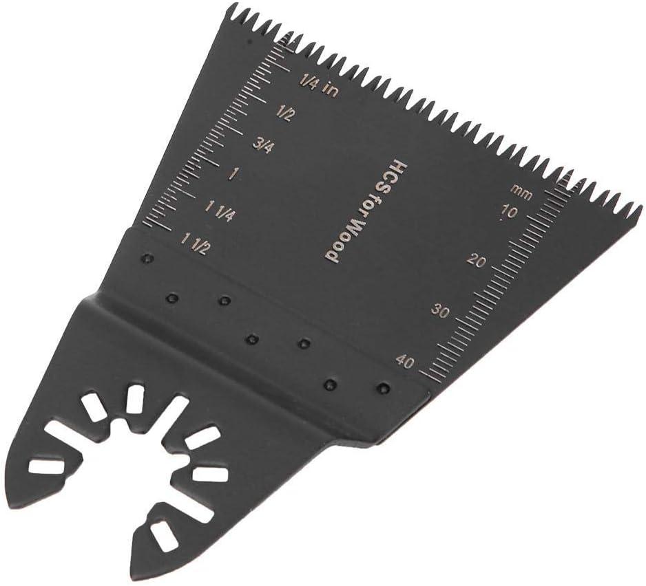 LHQ-HQ 10pcs hoja de sierra oscilante madera y perforaci/ón del agujero de 65 mm de acero universales Prop/ósitos M/últiples corte de la hoja hoja de sierra for cortar de pl/ástico