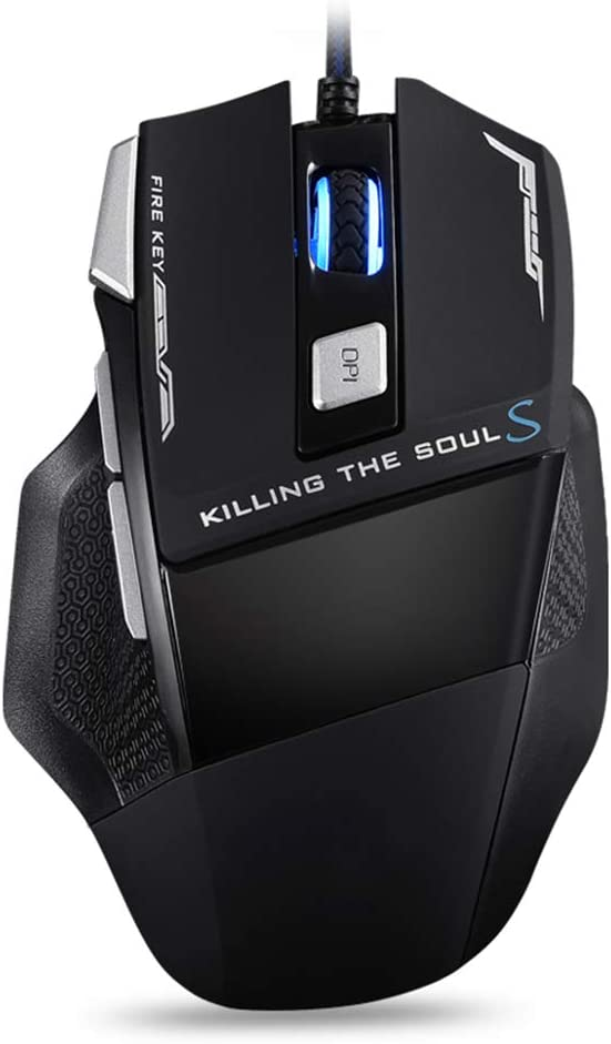 YL Mouse Soul Wired Mouse Office USB Mute Esports Games Jedi Survival CF LOL Dedicated Mechanical Mouse Desktop Computer Laptop Ergonomic Mouse