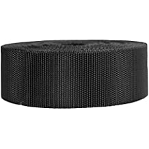 Strapworks Heavyweight Polypropylene Webbing - Heavy Duty Poly Strapping for Outdoor DIY Gear Repair, 2 Inch