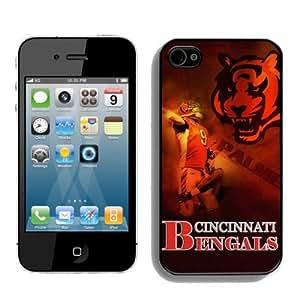 SevenArc NFL Cincinnati Bengals Iphone 4s or Iphone 4 Case For NFL Fans