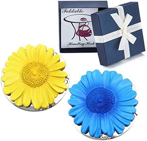 Sunflower Foldable Handbag Hanger Holder product image