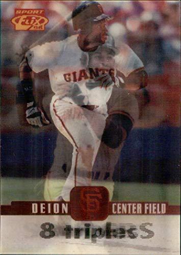 (1996 Sportflix #83 Deion Sanders SAN FRANCISCO GIANTS NFL HOF Prime Time)