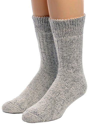 Warrior Alpaca Socks - Men's Ultimate Alpaca Socks White/Cinder XL