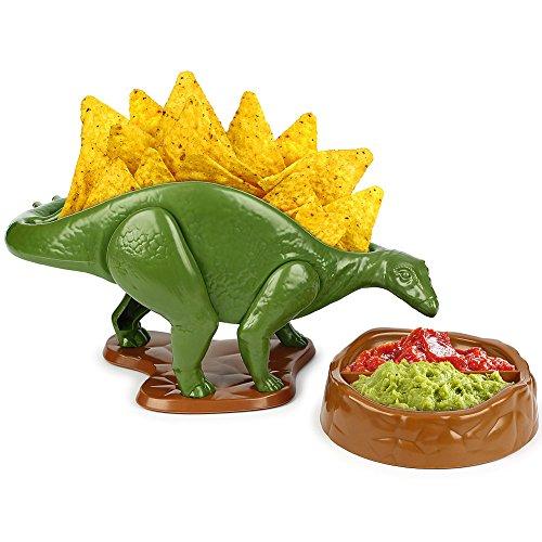 (Set) Nachosaurus w/Dip Bowl & Tacosaurus Rex Holder - Prehistoric Appetite by Barbuzzo (Image #3)