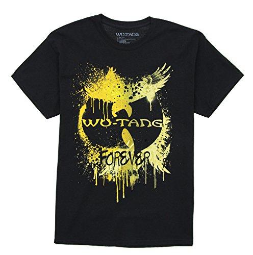 Wu-Tang Clan Men's Forever Crewneck T Shirt