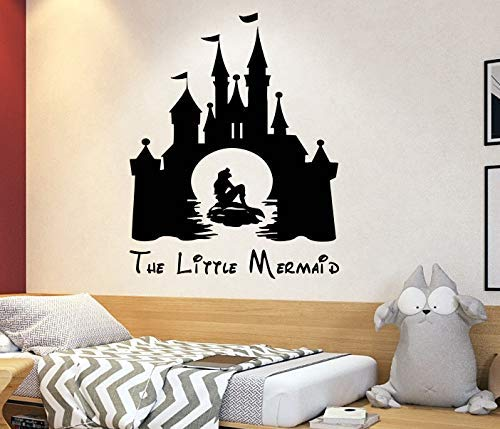 Amazon.com: The little mermaid Wall Decal Ariel Decal Disney ...