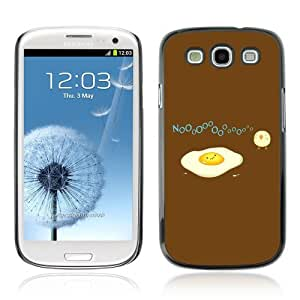 Designer Depo Hard Protection Case for Samsung Galaxy S3 / Egg & Bird